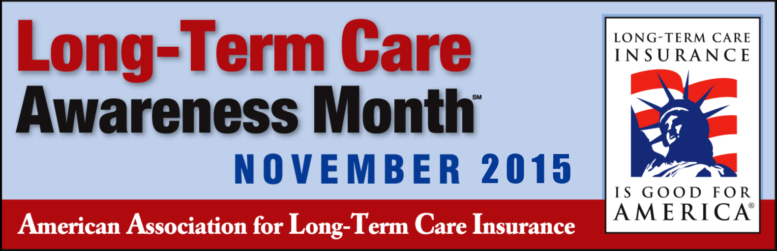 Long Term Care Awareness Month Banner 2015